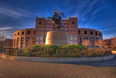 Home of the Seminoles. Unconquered!