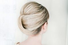 A chic chignon Hairstyle