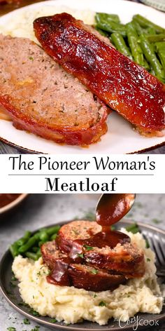 Pioneer Woman's Meatloaf This easy Pioneer Woman Meatloaf Recipe is a great family dinner idea and is a great freezer meal as well!This easy Pioneer Woman Meatloaf Recipe is a great family dinner idea and is a great freezer meal as well! Easy Meatloaf Recipe With Bread Crumbs, Classic Meatloaf Recipe, Good Meatloaf Recipe, Meat Loaf Recipe Easy, Stuffed Meatloaf Recipes, Homemade Meatloaf, Meatloaf Muffins, Pioneer Woman Meatloaf, Ground Beef