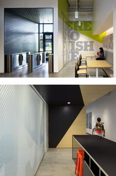 Buy Home Decorations Online Office Wall Design, Gym Design, Commercial Design, Commercial Interiors, Gym Interior, Interior Design, Nike Office, Sports Office, Environmental Graphic Design