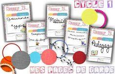 classeur d'école cycle 1