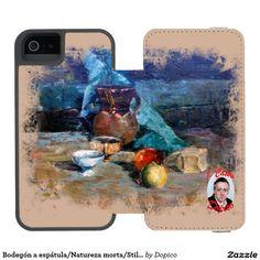 Bodegón a espátula/Natureza morta/Still life Funda Cartera Para iPhone 5 Watson