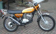 Suzuki 125 first bike.