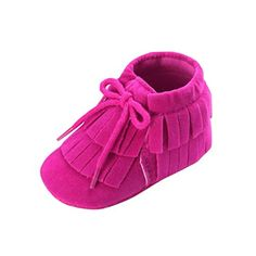 Baby Shoes |  Baby Shoes Egmy Baby Infant 018 Months Girl Boy Keep Warm Tassel Solid Shoes Soft Sole First Walking Crib Shoes 1218 Month Hot Pink -- To view further for this item, visit the image link.-It is an affiliate link to Amazon.
