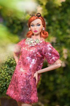 SPARKLING HOLIDAYS - Dress for Fashion Royal FR2 & same size 12'' Fashion Doll