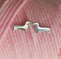 Dachshund Stud Earrings Silver or Gold-toned – The Smoothe Store