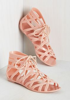 pink jelly gladiators| up to size 10!  kawaii pastel fairy kei pastel grunge hipster fachin shoes sandals plus plus shoes modcloth