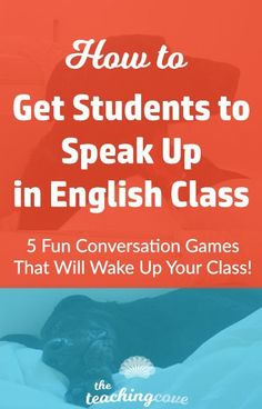 Want to get your students to speak up in English class? Do you teach ESL and have a hard time getting students to speak? Speaking lesson plans are inside! These 5 fun ways to teach speaking will add energy and excitement to your class. English Lesson Plans, Esl Lesson Plans, English Lessons, Learn English, Spanish Lessons, French Lessons, Learn French, Learn Spanish, Improve English