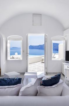 View from a Villa / Santorini