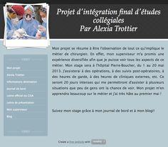 Alexia Trottier - Stage en chirurgie - Montréal - Québec