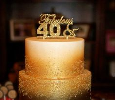 fabulous 40th birthday cakes - Buscar con Google