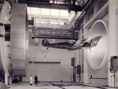 German Bf-109 Aerodrome. Wind tunnel testing?