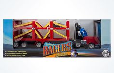 disney parks cars racers mickey mouse transporter new with box