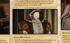 This is a poster about the Tudors. It's a fantastic history resource for the classroom and will encourage reading and discussion. This poster contains informati