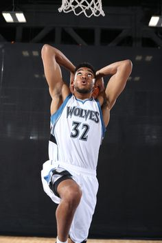 Karl Anthony Towns joins Andrew Wiggins and Anthony Bennett as the last three top #NBADraft picks converge in Minnesota.