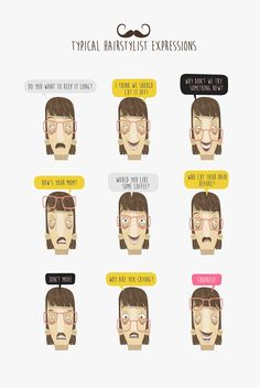 The Hairstylist on Behance