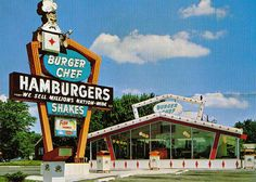 Burger Chef restaurants had cool kids' meals