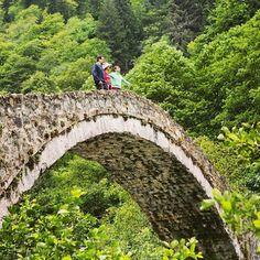 Ancient stone bridge #rize #seeyouturkey