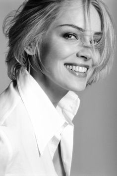 I tried for modelling work but it was a bit slow and that's when I took a part-time job at McDonalds. It gave me income while I was waiting for my big break and at the very least I could eat. Sharon Stone