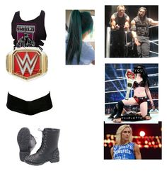 """Winning The WWE Women's Championship Belt From Charlotte"" by ashleighreigns156 on Polyvore"