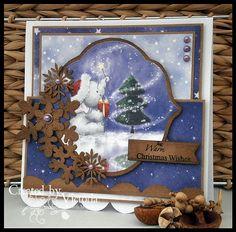 Vixx Handmade Cards: WILD ROSE STUDIO DT CARD ~ XMAS BELLA...