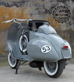 Nice Vespa W R O N G number. 52