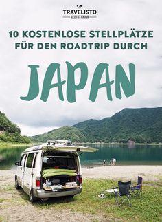 10 kostenlose Stellplätze für dem Roadtrip im Campervan durch #Japan
