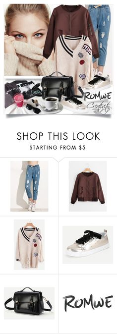 """""""ROMWE IV/3"""" by creativity30 ❤ liked on Polyvore featuring romwe"""