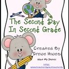 Second Day In Second Grade Unit: A Back-To-School Packet For Second Grade.This packet is