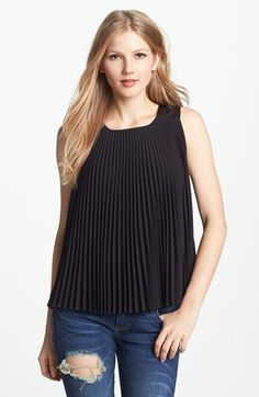Vince Camuto Pleated Blouse available at #Nordstrom