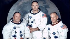 Check out link abt the Neil Armstrong how landed on moon by checking out link 👇 Michael Collins, Neil Armstrong, Mission Apollo 11, Apollo 11 Crew, Gus Grissom, Christopher Abbott, Valentina Tereshkova, John Glenn, Alexander Graham Bell