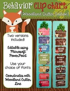 You are purchasing a set of printables you can use to create a behavior clip chart.  This chart is editable using Microsoft PowerPoint, so you are free to use your own fonts for each slide.Not sure how to use custom fonts? Head over to my blog to learn how to use custom fonts for free
