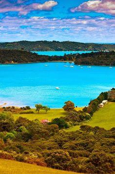 Te Whau Point, Waiheke Island, Hauraki Gulf, Auckland, New Zealand