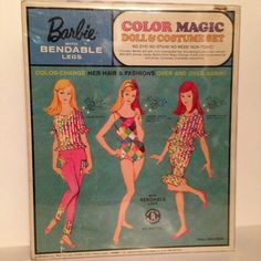 Color Magic Barbie gift set