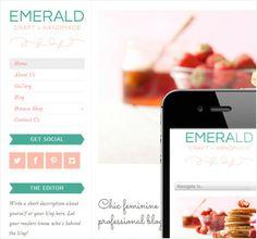 Emerald WordPress Theme
