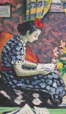 pintura de Albert Bertalan (1899-1957)