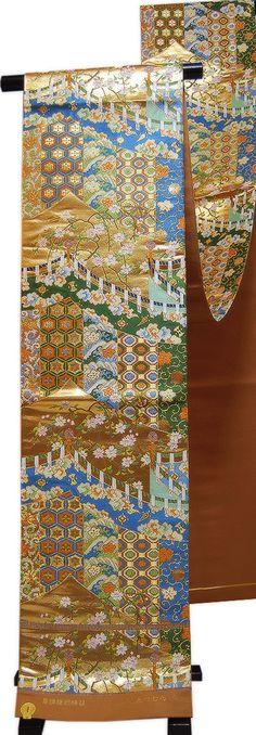Silk hand woven Obi
