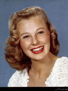 June Allyson (photo by Nickolas Muray)