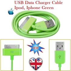 IPHONE CABLE USB DATA CHARGER IPAD IPOD IPHONE 3G 4G 4 4GS COMPITABLE WITH ALL
