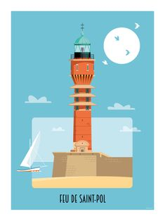 Victor Brauner, Rouen, Le Havre, Nautical Art, Illustrations, Paris, Travel Posters, Brittany, Europe