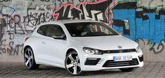 #Volkswagen #Scirocco R Facelift 2014 2015 weiss