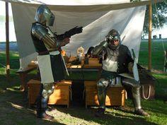 Vestizione Cavaliere, Armatura Tardo XIV Secolo.  Knight Dressing, Late XIV Century Armor