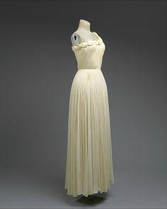 Evening dress - Madame Grès (Alix Barton)  (French, Paris 1903–1993 Var region)  Date: 1958