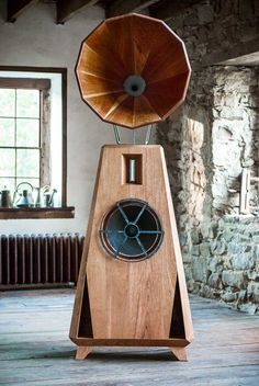 I feel like our house needs these. Speakers that actually look good! The AC1 is as much a sculptural achievement as a sonic one.