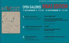 invito ArtUGhet  XMas Edition per la mostra Grandi Percorsi in Piccolo Formato Boarding Pass, Shape