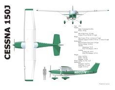 cessna 152 drawing - Google Search