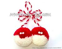 It is a website for handmade creations,with free patterns for croshet and knitting , in many techniques & designs. Pom Pom Crafts, Yarn Crafts, Diy And Crafts, Crafts For Kids, Christmas Gift Tags, Christmas Ornaments, Toy Workshop, Yarn Dolls, How To Make A Pom Pom