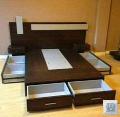 trendy bedroom storage built in drawers