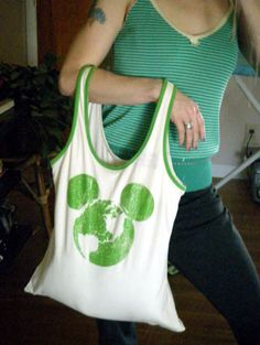 T-Shirt Surgery: Make a Purse Out of Tank Tops