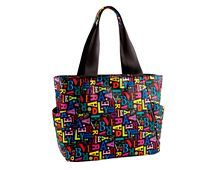 A to Vera large travel tote